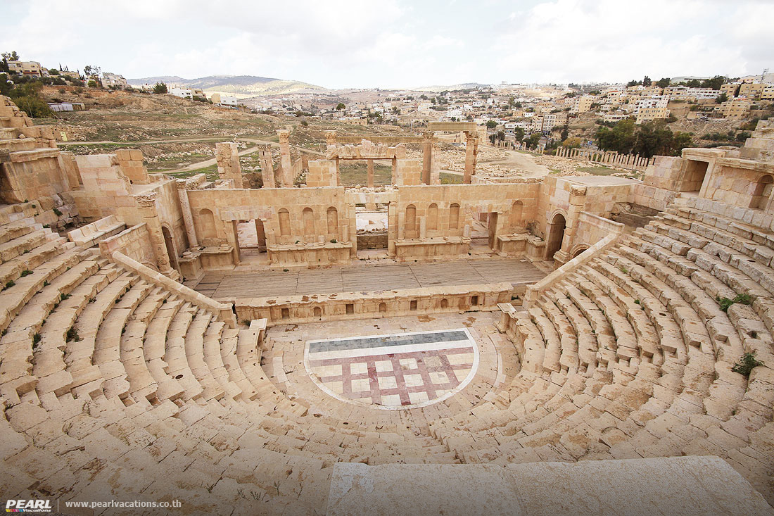 North Theatre,Jarash Jordan