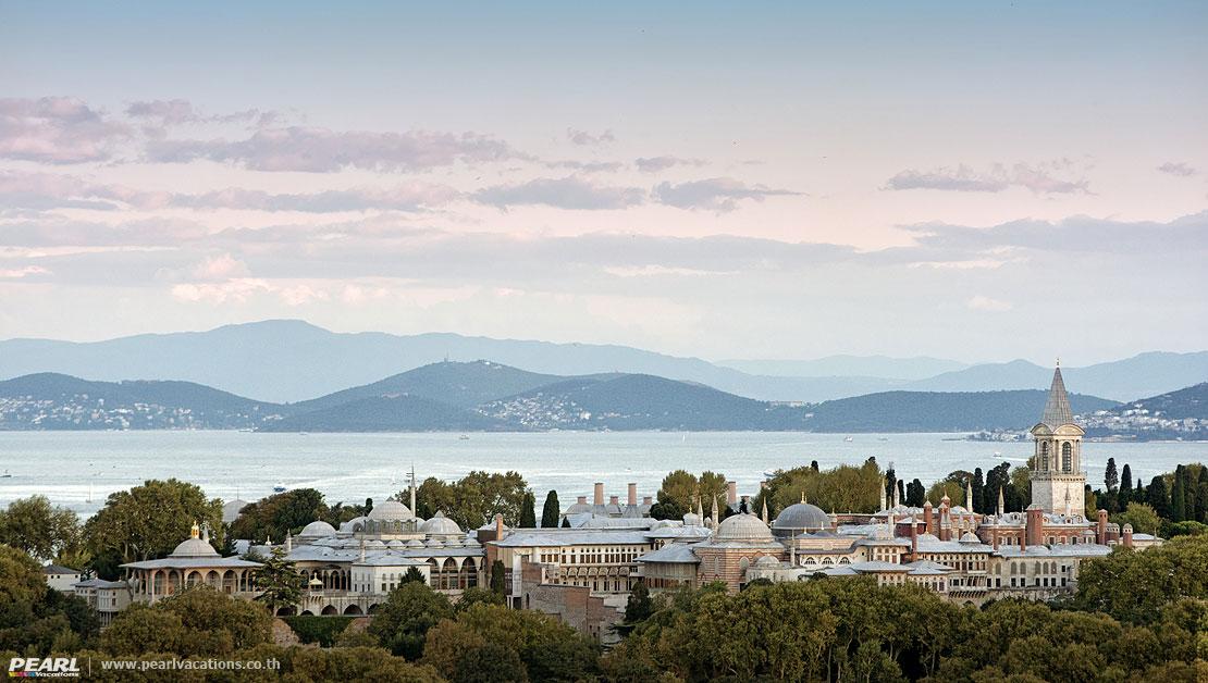 พระราชวังทอปกาปิ(Topkapi Palace) อิสตันบูล ตุรกี