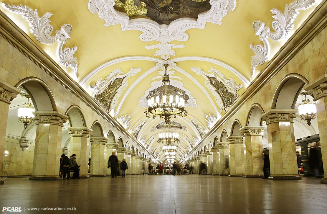 Metro Station Moscow Russia