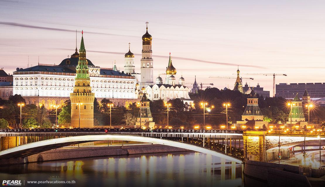 พระราชวังเครมลิน (Kremlin) Moscow Russia