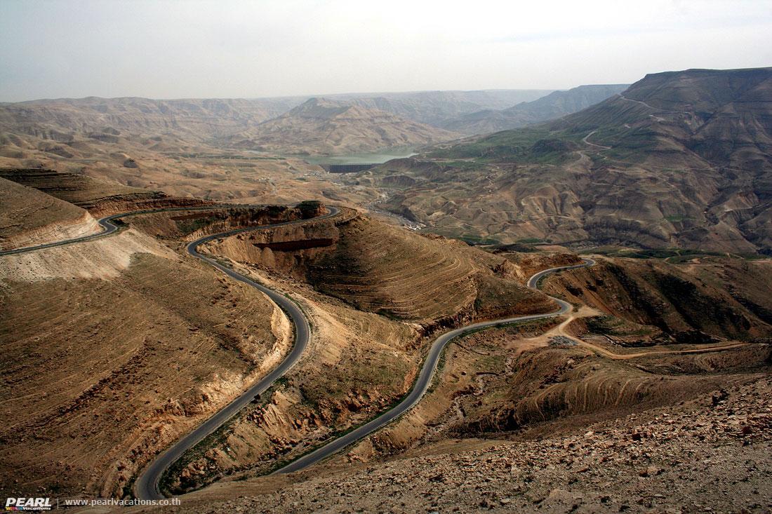 Wadi-Mujib--Jordan