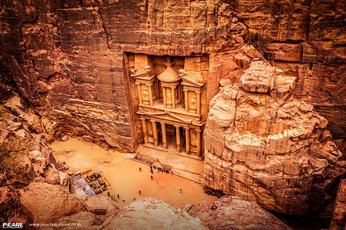 เพตรา มหานครศิลา สีกุหลาบ - Petra Jordan - The Red Rose Lost City