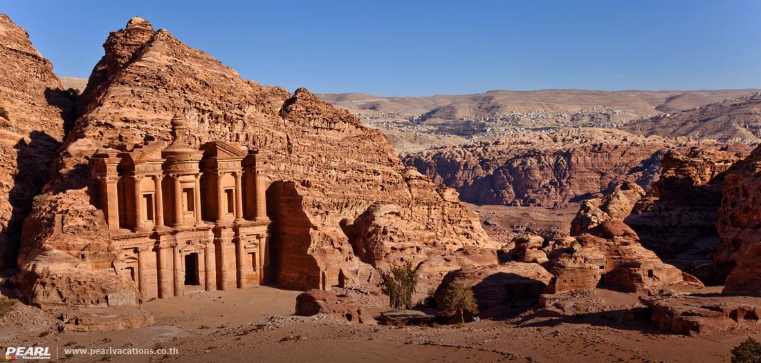 เพตรา มหานครศิลา สีกุหลาบ Petra Jordan The Red Rose Lost City