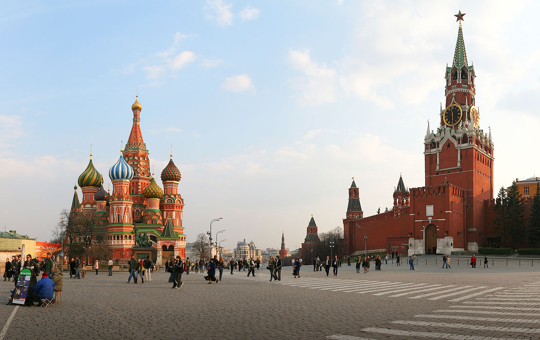 Red Square - Saint Basil Moscow Russia