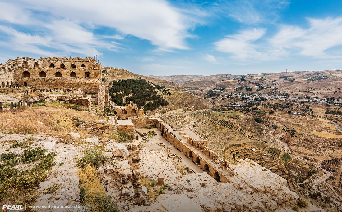 Al Karak kerak crusader castle fortress Jordan middle east